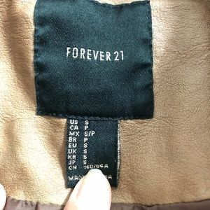Forever 21 Jackets & Coats - Forever 21 Brown Leather Jacket